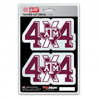 Texas A&M Aggies 4x4 Decal Pack