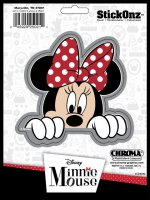 Minnie Mouse Peeking Decal