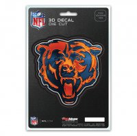 Chicago Bears Die Cut 3D Decal