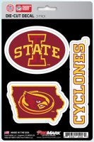 Iowa State Cyclones Team Decal Set