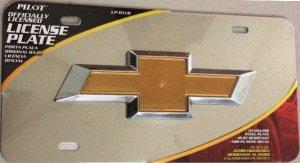 Chevrolet 3-D Official LICENSED License Plate