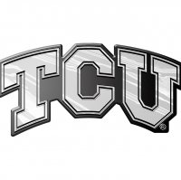 Texas Christian NCAA Auto Emblem