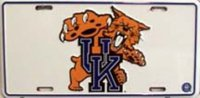 Kentucky Wildcats License Plate