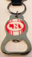 Nebraska Cornhuskers Keychain And Bottle Opener