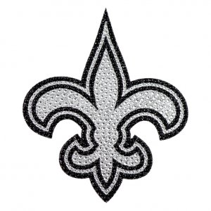 New Orleans Saints Diamond Bling Auto Emblem