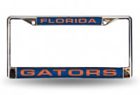 Florida Gators Blue Laser License Plate Frame