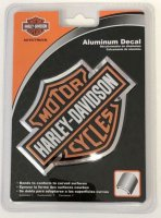 Harley-Davidson Bar & Shield Aluminum Decal