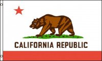 California State Polyester Flag