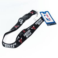 Chicago Bulls Lanyard With Neck Safety Latch