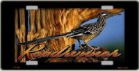 Roadrunner Full Color License Plate