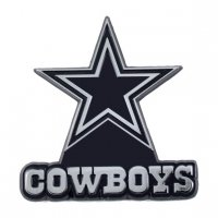 Dallas Cowboys 3-D Metal Auto Emblem