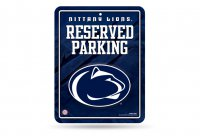 Penn State Metal Parking Sign