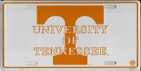 University Of Tennessee Volunteers Metal License Plate