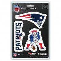 New England Patriots Team Decal Set
