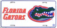 Florida Gators Metal License Plate