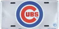 Chicago Cubs Deluxe License Plate