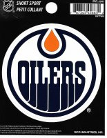 Edmonton Oilers Short Sport Decal