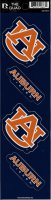 Auburn Tigers Quad Decal Set