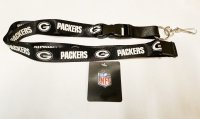 Green Bay Packers Blackout Lanyard With Safety Latch