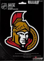 Ottawa Senators Die Cut Vinyl Decal
