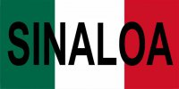 Mexico Sinaloa Photo License Plate