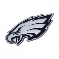 Philadelphia Eagles 3-D Metal Auto Emblem