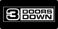 3 Doors Down License Plate