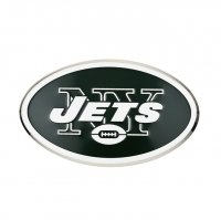 New York Jets Full Color Auto Emblem