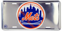 New York Mets Anodized License Plate