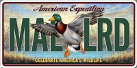 American Expedition MAL LRD Photo License Plate