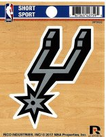 San Antonio Spurs Short Sport Decal