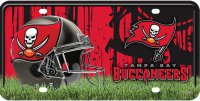 Tampa Bay Buccaneers Metal License Plate