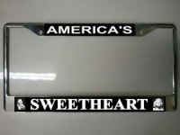 Marilyn-America's Sweetheart Photo License Plate Frame