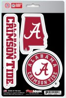 Alabama Crimson Tide Team Decal Set