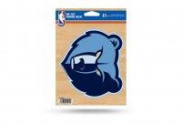 Memphis Grizzlies Die Cut Vinyl Decal