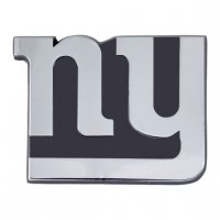 New York Giants 3-D Metal Auto Emblem