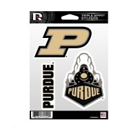 Purdue Boilermakers Triple Spirit Stickers