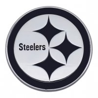 Pittsburgh Steelers 3-D Metal Auto Emblem