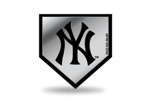 New York Yankees MLB Plastic Auto Emblem