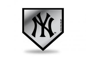 New York YANKEES MLB Plastic Auto Emblem