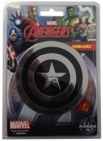 Captain America Injection Molded Color Emblem