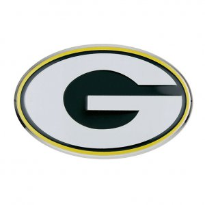 Green Bay Packers Full Color Auto Emblem