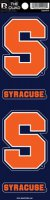 Syracuse Orange Quad Decal Set