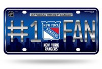 New York Rangers #1 Fan License Plate