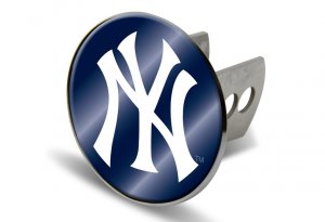 New York Yankees laser Logo Hitch Cover