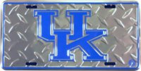Kentucky Wildcats Diamond License Plate