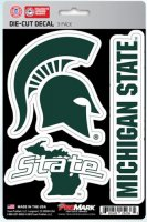 Michigan State Spartans Team Decal Set