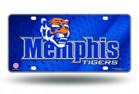Memphis State Tigers License Plate