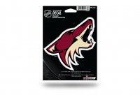 Phoenix Coyotes Die Cut Vinyl Decal