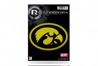 Iowa Hawkeyes Glitter Die Cut Vinyl Decals